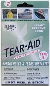 Tear Aid Vinyl Repair Kit Patch Or Your Ocean Tamer Marine Bean
