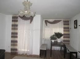 klassischer wohn esszimmer vorhang mit mehrfarbigen