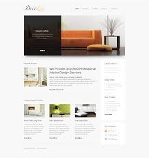 100 Home Design Websites Interior Responsive Website Template 39608