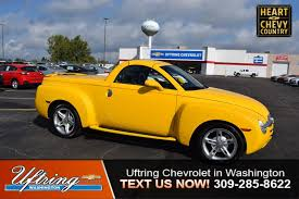 Used 2004 Chevrolet SSR For Sale | Peoria IL Chevy Chevrolet Ssr Truck Rare 164 Limited Colctible Diecast Find Out Why The Chevy Was Epitome Of Quirkiness 2004 Chevrolet Gaa Classic Cars Amazoncom 1 Badd Ride 2005 Green Truck Series 2 Unloved By The Masses Retro Sport Truck Is A Hot Indy 500 Pace Vehicle 2003 Pictures Information For Sale Classiccarscom Cc1160766 Ssr Trucks Series Revell 125 Scale Plastic Model Used Of 54 510 Km At 32 Kehl Germany Oct 18 2016 Parked In City Center