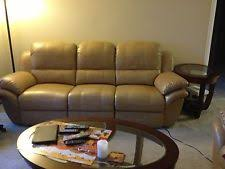 Decoro Leather Sofa With Hardwood Frame by Used Furniture For Sale Ebay