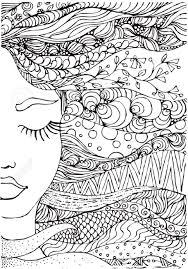 Resultado De Imagen De Mujeres Para Pintar Adultos Dibujos Para Pintar