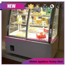 New Products Small Display Fridge Mini Cake Refrigerator CabinetChina