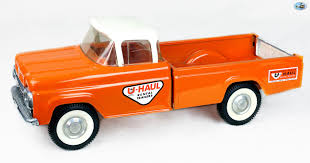 Awesome Original 1950 Restored Vintage U-HAUL Trailer Truck Toy ...