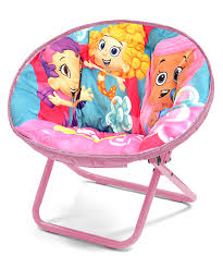 bubble guppies mini saucer chair zulily