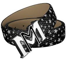 Fashion M belts mens Letter genuine leather designer Belt High