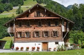100 Log Cabins Switzerland Engelberg 12 July 2017 Traditional Wooden Chalet