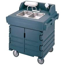 self contained portable hand sink cart