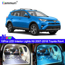 For Toyota Rav4 Led Interior Lights Bulbs Kit Car Lamp White 2007 ...