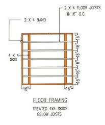 12 X 24 Gable Shed Plans by Storage Shed Plans 12 U0027 X 24 U0027 Gable Roof Style D1224g Material