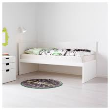 Captains Bed Ikea by Flaxa Bed Frm W Headboard Slatted Bd Base White 90x200 Cm Bunk