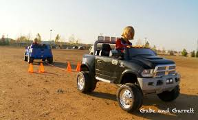 Power Wheels Tug Of War 1 Ford F 150 Vs Dodge Ram Youtube Throughout ...