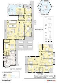 100 The Willow House Plan Floor Tree Estate