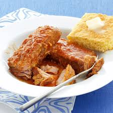 Slow Cooked BBQ Pork Ribs Recipe Taste Of Home