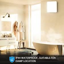 oeegoo led deckenle bad 24w ip44 wasserfest badleuchte badezimmerle 2400lm neutralweiß 4000k flimmerfreie deckenleuchte wohnzimmerle