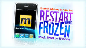 HOW TO Restart a Frozen Apple iPod iPad or iPhone