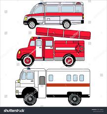 100 Fire Truck Wallpaper Ambulance Car Equipped Emergencies Stock Vector