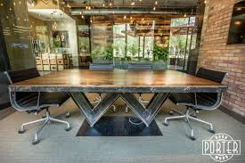 """Reclaimed White Oak """"W"""" I-Beam Conference Table   Porter Barn Wood White Oak Wood Classic Blue Madison Door Barn Kitchen Cabinets Products Pure Flooring Park Corner Borneo Merbau 425 Laminate Floors Vality Reclaimed W Ibeam Conference Table Porter 7 Inch Quarter Sawn Barn Grey Stain And Matt Finish Sawstruck Southern Vintage Maxs Inc August 2016 Ohventures Discover Mohican Treehouse Cabins Ronnie Dunn Tennessee House Tour Brooks White Oak Wood Floor Stained Finished Painted Doors Bedroom Small Closet With"""
