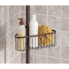Floor To Ceiling Tension Rod Shelves by Interdesign York Tension Shower Caddy 2 Walmart Com