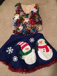 Holiday Fashion Challenge Tomorrow Repurpose A Tree Skirt