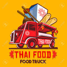 Food Truck Logotype For Thai Food Restaurant Fast Delivery Service ... Austins Favorite Thai Food Truck Sparks Innovative New Barbecue Home Edd Foodtruck Village European Development Days Food Truck Design On Behance Lamai Owner Lives Life Trying To Bring Happiness Others Super Ecu Playlist Nashville Friday Deg My Love Of Siam Was Live Coat Menu White Guy Pad Los Angeles Trucks Roaming Hunger
