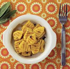 Pumpkin Gnocchi Recipe by Pumpkin Gnocchi With Sage Butter Recipe Relish Blog