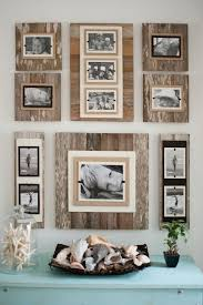 Set Of FOUR 4 Rustic Wall Clip Frame Picture Display Instagram Square Home Decor