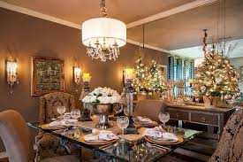 Stunning Dining Room Decked Out For Christmas Design SAJ Designs