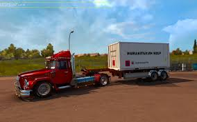 HUMANITARIAN HELP 20FT 1.21.X Trailer -Euro Truck Simulator 2 Mods
