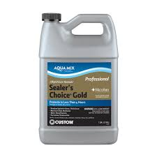 Zep Floor Sealer Sds by Custom Building Products Aqua Mix Sealer U0027s Choice Gold 1 Gal