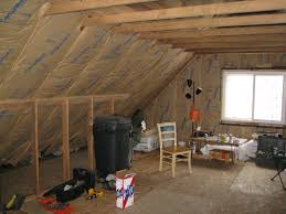 Install Bathroom Vent No Attic Access by How To Insulate And Ventilate Knee Wall Attics Energy Smart Home
