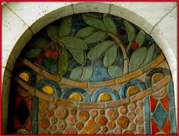 detroit institute of arts detail pewabic tile backed dri flickr