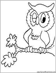 Black And White Cartoon Owls 1679765