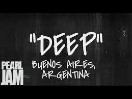 Deep Live In Buenos Aires Argentina 4 03 2013 Pearl Jam