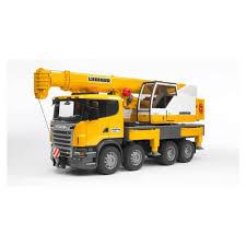 Bruder Scania R Series Liebherr Crane Truck 03570 - Jadrem Toys