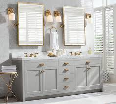 Restoration Hardware Mirrored Bath Accessories by Kensington Pivot Rectangular Mirror Pottery Barn