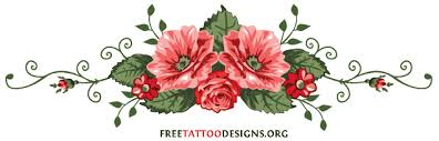 Lower Back Rose Tattoo