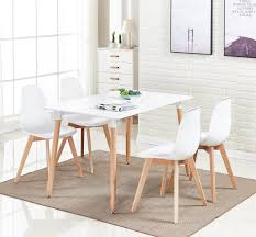 Rico Dining Set - 4 X Rico Dining Chairs & White Halo Dining Table ... White Ding Chair Swedish Nordic House Shop Wooden With Slatted Back Set Of Two On Better Homes And Gardens Collin Distressed Amazoncom Target Marketing Systems 2 Tiffany Chairs Detail Feedback Questions About Giantex 4 Pvc Homesullivan Rosemont Antique Wood Intertional Fniture Direct Room With Solid Wood Upholstered Button Tufted Leatherette Of Grace Rain Pier 1 Creme