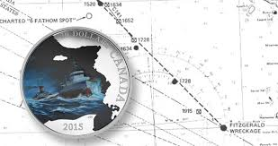 Where Did The Edmund Fitzgerald Sank Map by Canada Honors Wreck Of Ss Edmund Fitzgerald With Coin