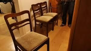 4 stühle 50er jahre esszimmer stuhl vintage retro