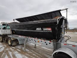 100 Side Dump Truck Doepker SuperB Trailer