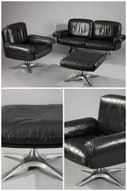 canapé ées 70 canapé fauteuil et ottoman en cuir ds 31 éditeur de sede