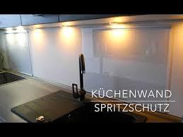 küchen wand spritzschutz aus plexiglas selber bauen