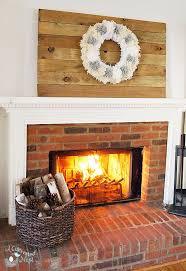 DIY Reclaimed Wood Wall Art With Pom Wreath