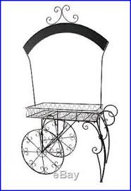Patio Plant Stands Wheels by Flower Pot Display Stand Rolling Display Cart Plant Stand On