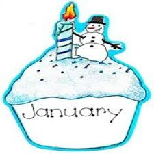 About February Clipart January Birthday Snowjet