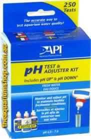 ph aquarium eau douce aquarium pharmaceuticals api freshwater ph test and adjuster kit