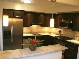 Corner Kitchen Wall Cabinet Ideas by White Spring Granite As Interior Material For Futuristic Kitchen