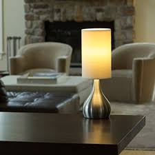Set Of Tall Table Lamps by Light Accents Set Of 2 Modern Table Lamps 18 Inches Tall With 3