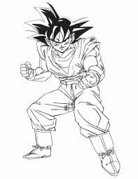 Goku Cartoon Coloring Pages Download8